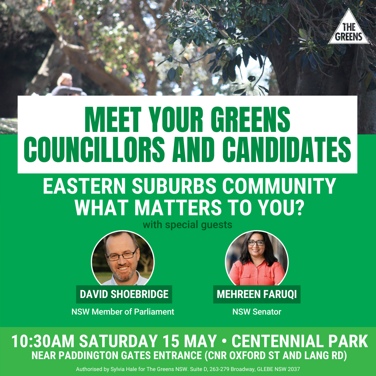 Help Shape Your Eastern Suburbs