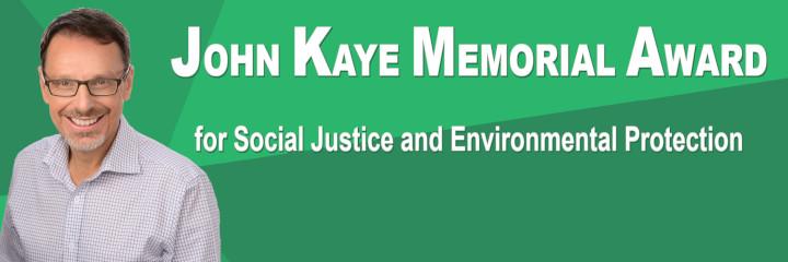 John Kaye Memorial Award